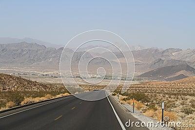 USA, California/Shoshone: Village in a Desert