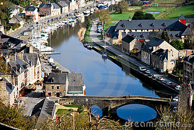 The village of Dinan