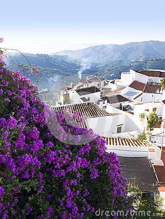 Village of Frigiliana Spain