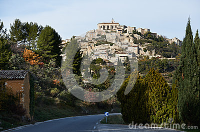 Village of Gordes in Provence