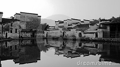 village house of China