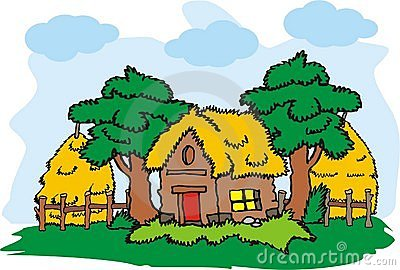 Village House Vector Stock Photography Image 13227272