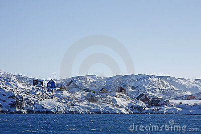 Village of Illimanaq, West Greenland