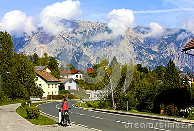 Village in Julian Alps