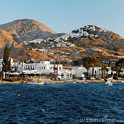 Village on Kythnos Island