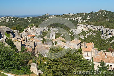 Village Les Baux de Provence in South France