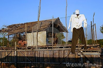 Village lifestyle, Cambodia