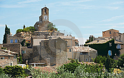 Village of Lourmarin, France