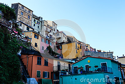 Village of Manarola in Cinque Terre
