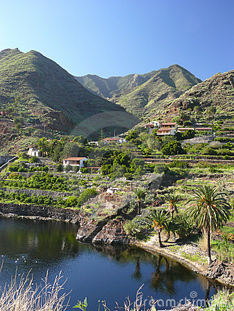 Village in the Mountains of La Gomera