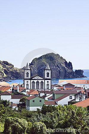 Free Village Of Lages Do Pico, Azores Royalty Free Stock Images - 6418549