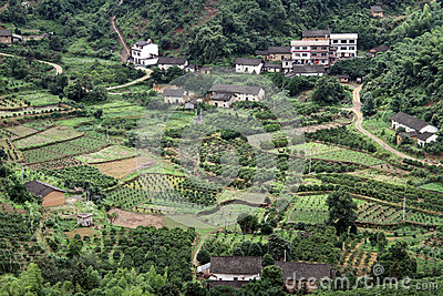 Village and orchards