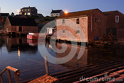 The Village of Peggy s Cove, Nova Scotia Editorial Image
