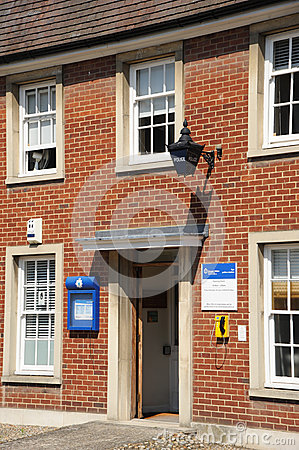 Village police station Editorial Stock Image