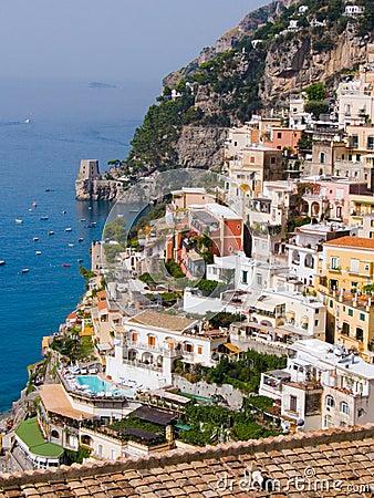 The village of Positano