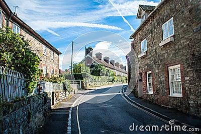 Village road PetWorth West Sussex UK