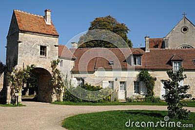 The village of Saint Jean aux Bois in Picardie