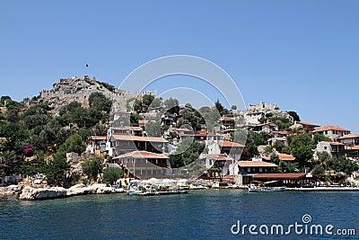 Village of Simena
