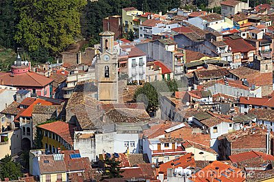 Village In Spain Stock Photos - Image: 29296633