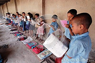 Village Student Editorial Photo