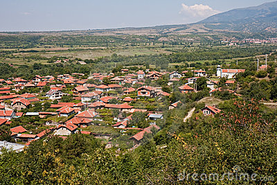 Village Top View