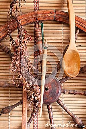 Village utensils