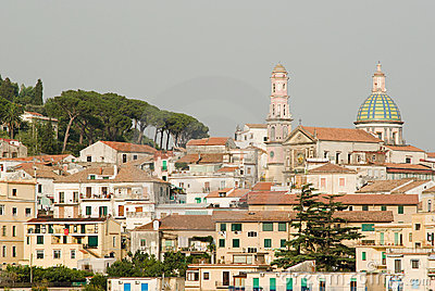 The village of Vietri sul Mare