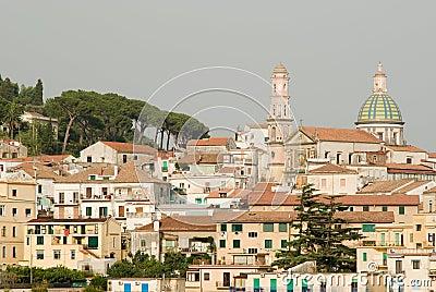 The village of Vietri sul Mare
