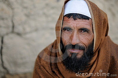 Villager in Afghanistan Editorial Stock Image