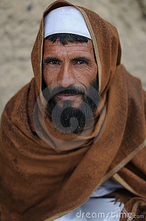Villager in Afghanistan Editorial Photography