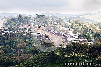 Villaggio etiopico