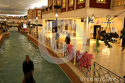 Villaggio Mall in Doha, Qatar Editorial Stock Photo