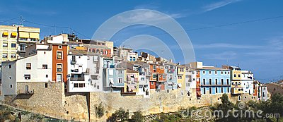 Villajoyosa Fishing Town