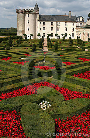 Free Villandry Castle, France Royalty Free Stock Images - 3211429