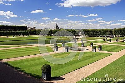 Villandry Castle Gardens