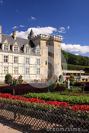 Villandry Chateau and garden
