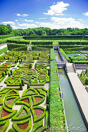 Free Villandry Gardens Stock Photos - 10678903