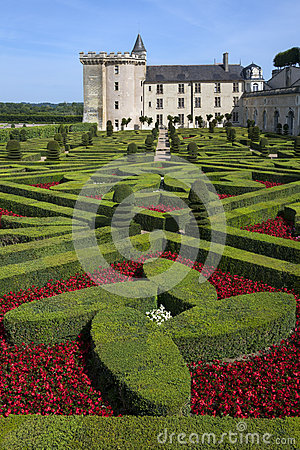 Villandry - Loire Valley - France Editorial Photography