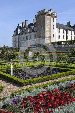 Villandry - Loire Valley - France Editorial Image