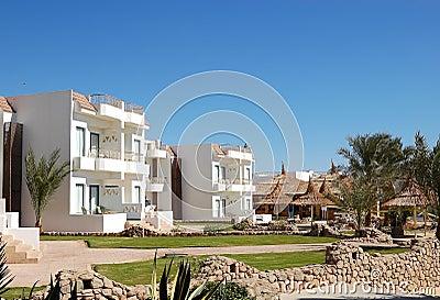 Villas at popular hotel