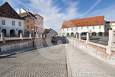 Ville de Sibiu, Roumanie