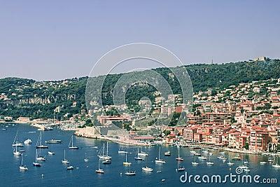 Villefranche auf dem Taubenschlag d Azur