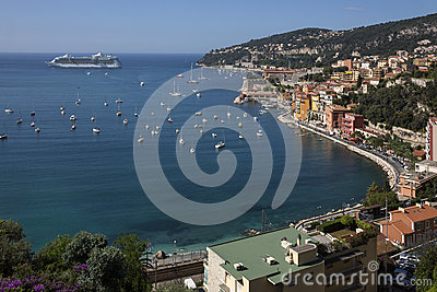 Villefranche - Cruise Ship - French Riviera