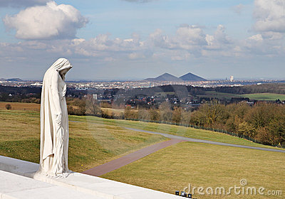 The Vimy Ridge Canadian War Memorial