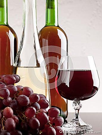 Vin et raisin