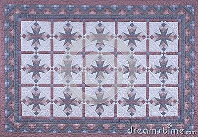 Vinatge Blue Quilt Fabric