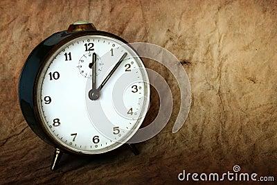 Vinatge clock