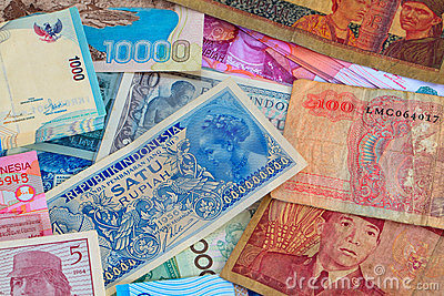Vinatge Indonesian Currency