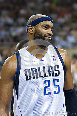 Vince Carter of Mavericks Editorial Stock Image
