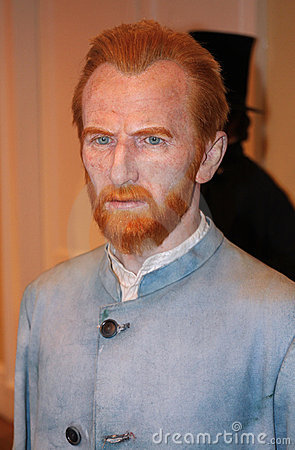 Vincent van Gogh at Madame Tussaud s Editorial Image